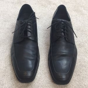 Cole Haan/Nike Air Black lace up dress shoes- 13
